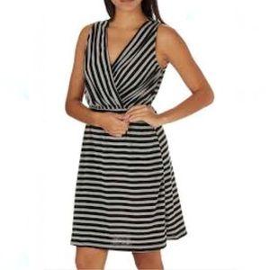 Victoria's Secret Black and White A Line Dress